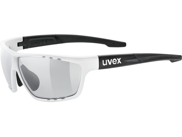 UVEX Sportstyle 706 V Sportglasses white matt black/smoke